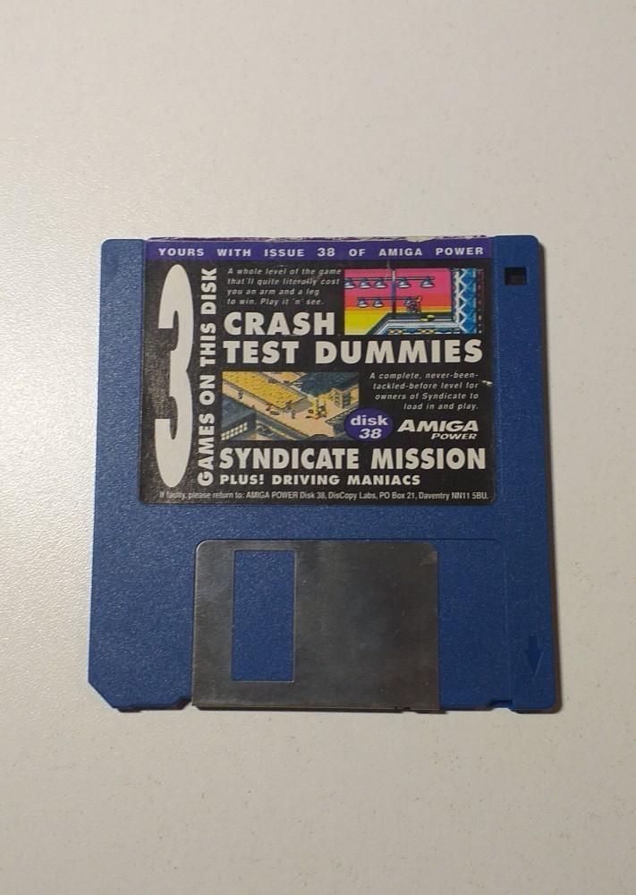 Joc AMIGA  3 Games on disk - DEMO - G