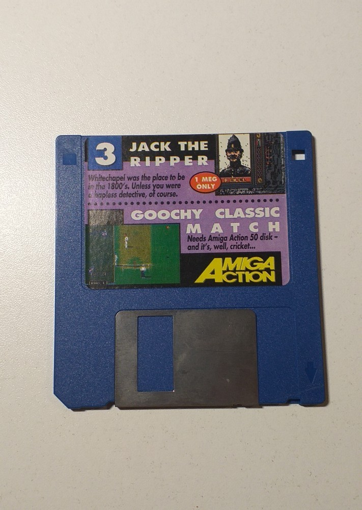 Joc AMIGA  Jack the ripper + Goochy Classic Match - DEMO - G