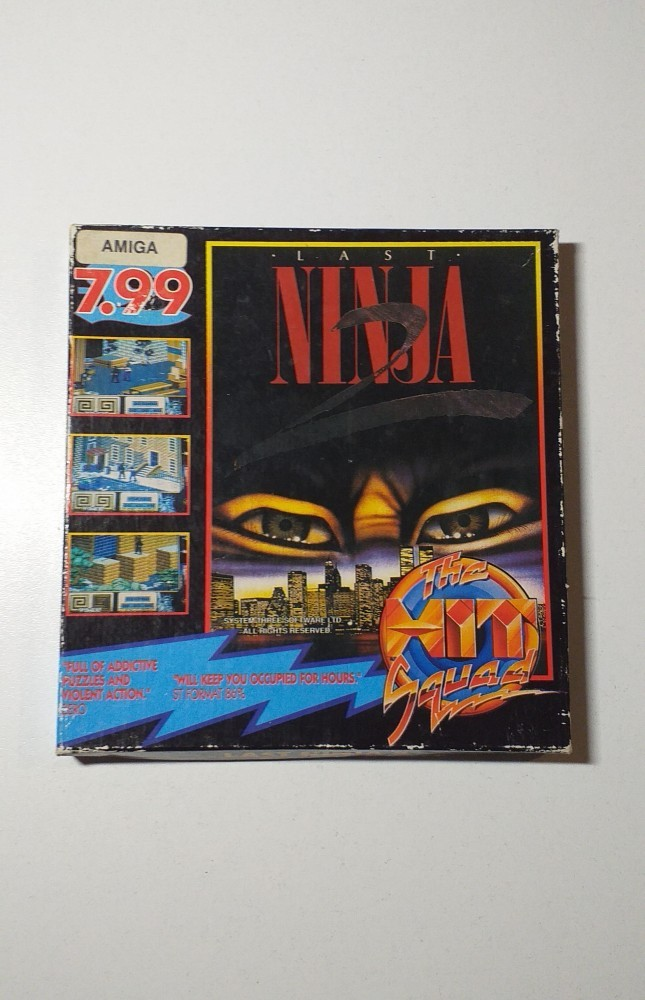 Joc AMIGA  The Last Ninja 2