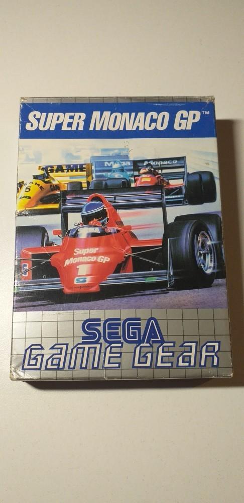 Joc SEGA Game Gear Super Monaco GP
