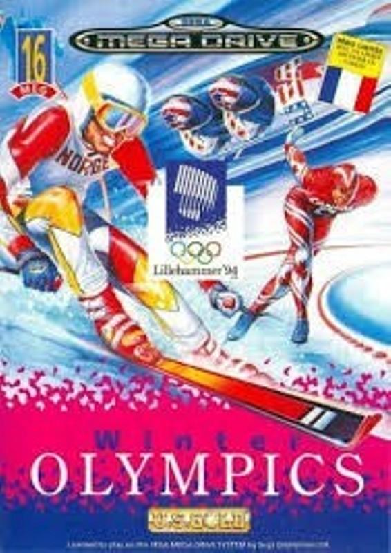Joc SEGA Mega Drive Winter Olympics