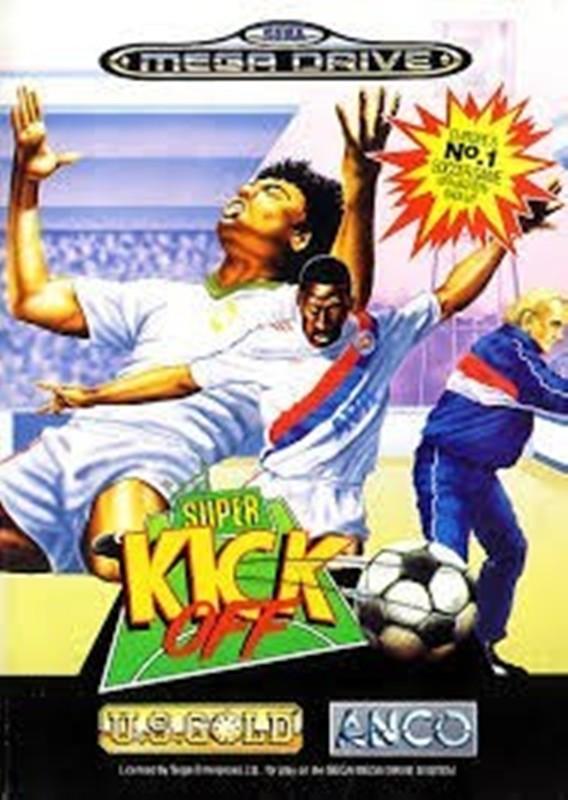 Joc SEGA Mega Drive Super kick off