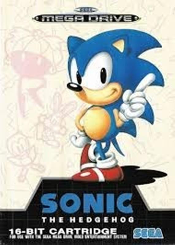 Joc SEGA Mega Drive Sonic The Hedgehog