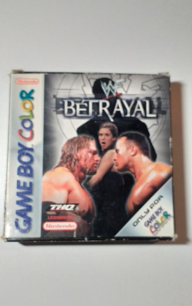 Joc Gameboy Color WWF Betrayal