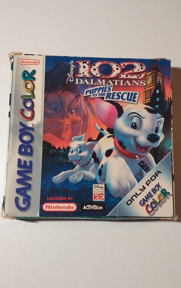 Joc Gameboy Color Disney's 102 Dalmatians Puppets to the rescue