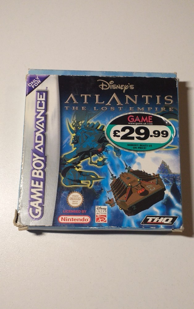Joc Gameboy Advance Disney's Atlantis the lost empire