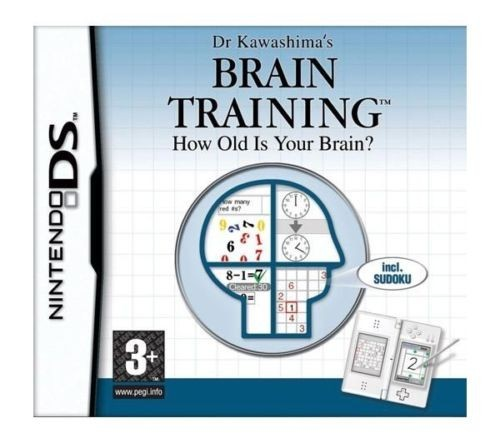 Joc Nintendo DS Dr Kawashima's BRAIN TRAINING - How old is your brain