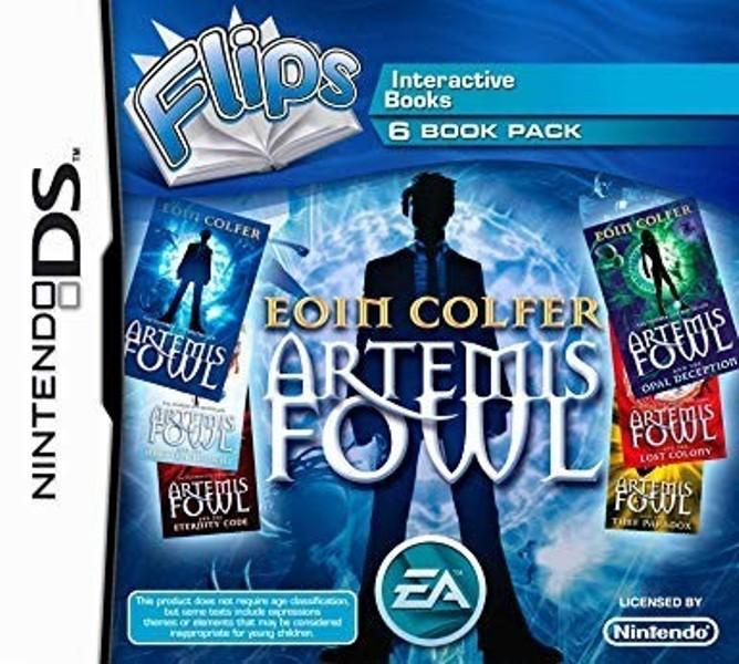 Joc Nintendo DS Flips Artemis Fowl - 6 interactive books