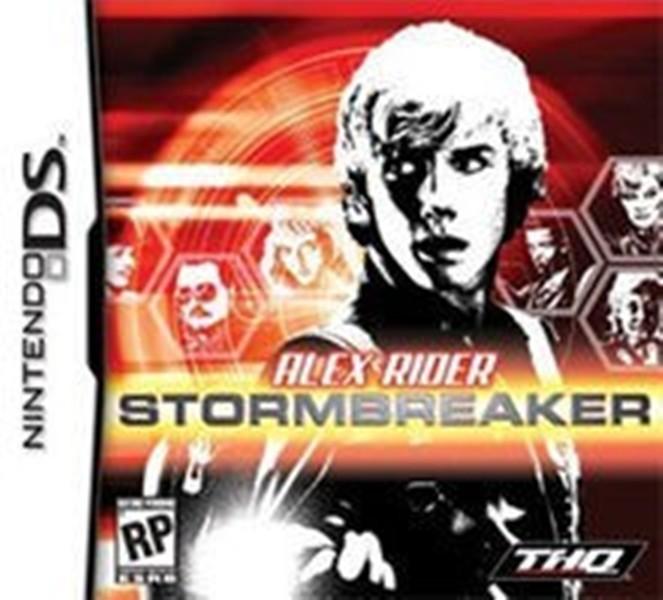 Hra Nintendo DS Alex Rider Stormbreaker