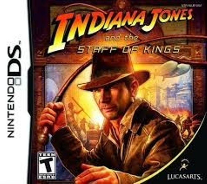 Gra Nintendo DS Indiana Jones and the Staff of kings