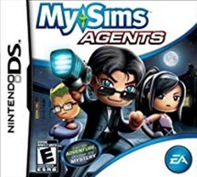 Joc Nintendo DS My Sims Agents