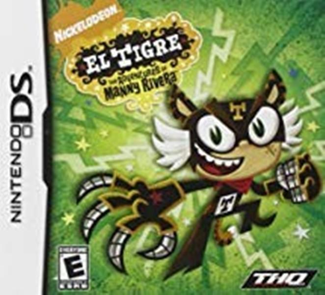 Joc Nintendo DS Nickelodeon El Tigre - The Adventures of Manny Riviera