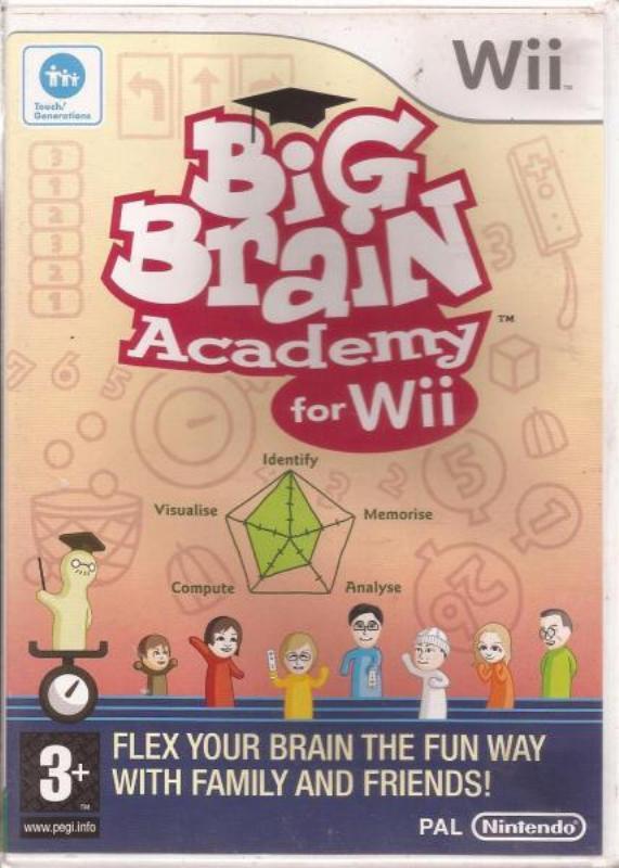 игра Nintendo Wii Big brain academy for Wii