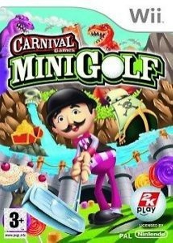 Joc Nintendo Wii Carnival Games MiniGolf