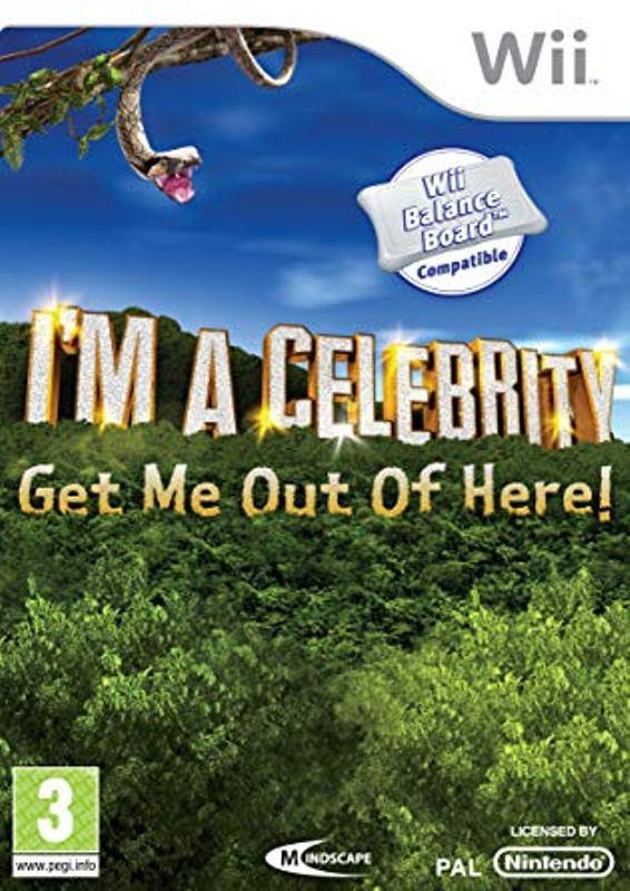 Nintendo Wii Játék I am a celebrity - Get me out of here