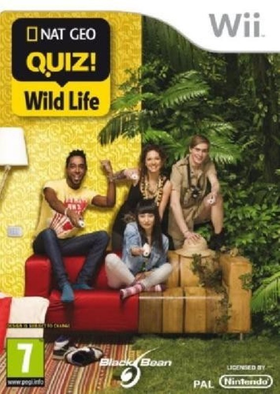 Nintendo Wii Játék NAT Geo Quiz – Wild Life