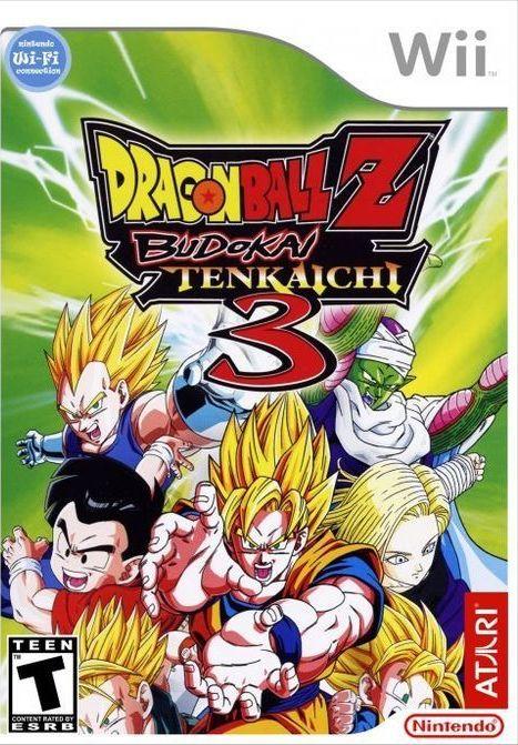 Gra Nintendo Wii Dragon Ball Z - Budokai Tenkaichi 3