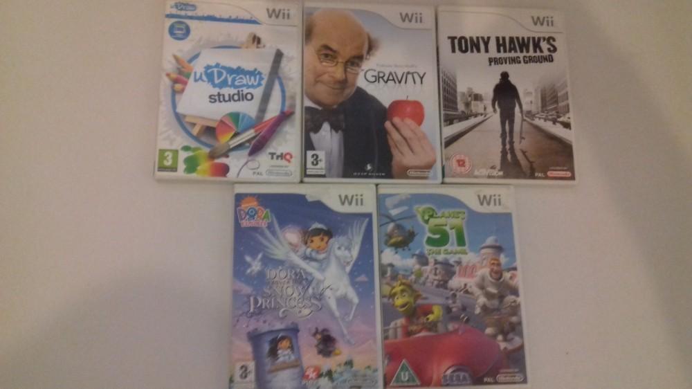 Joc Nintendo Wii X 5 - LOT 019