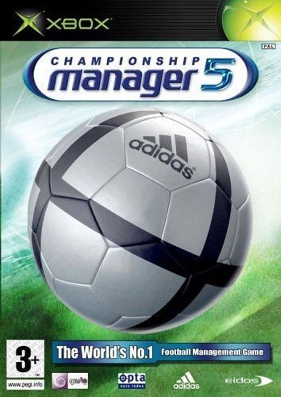 XBOX Clasic Játék Championship Manager 5