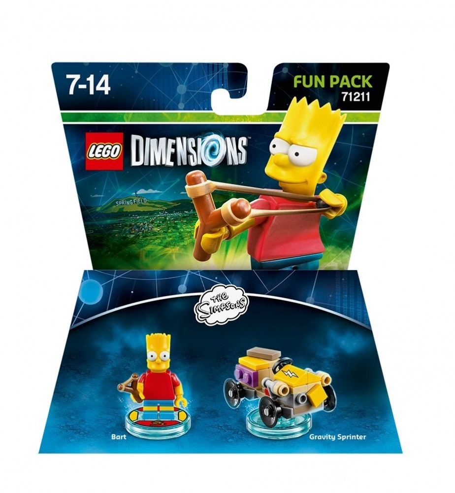 LEGO Dimensions The Simpsons - Bart Fun Pack - 60311