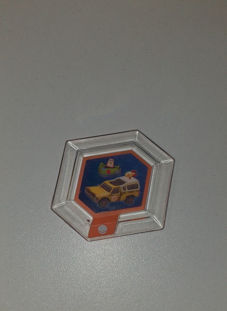 Disney Infinity Power Disc - Pizza Planet Delivery Truck