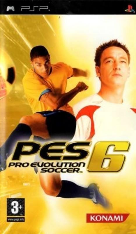 Joc PSP Pro Evolution Soccer 6 PES