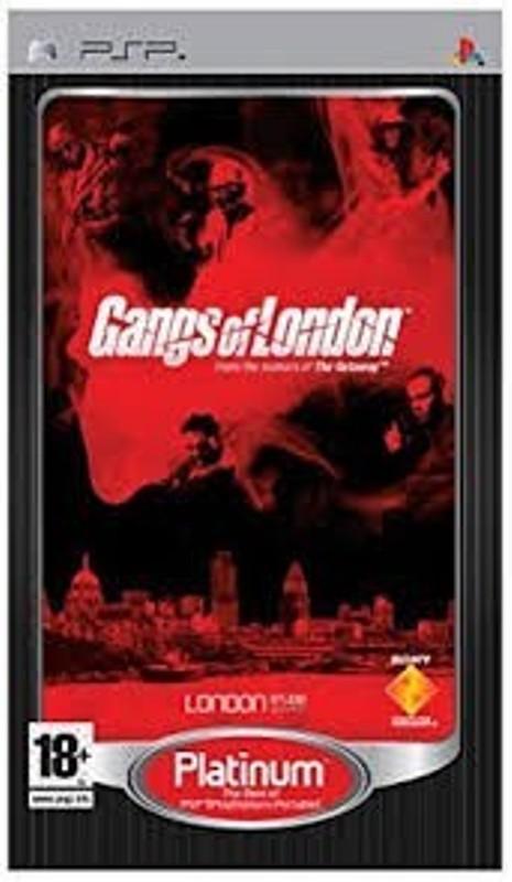 Hra PSP Gangs of London PLATINUM