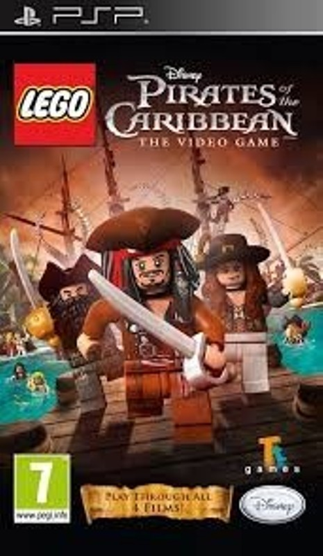 Joc PSP LEGO Pitrates of the Carribean - The video game