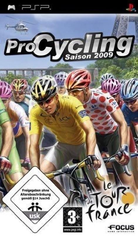 Gra PSP Pro Cycling 2009 Tour de France