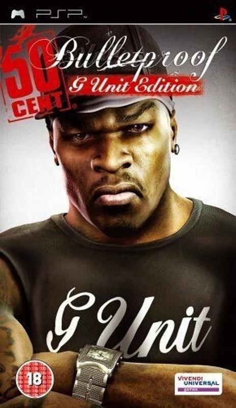 игра PSP 50 Cent Bulletproof - G unit edition