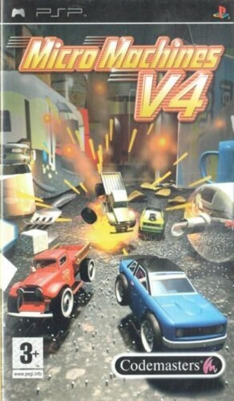 Joc PSP Micro Machines V4