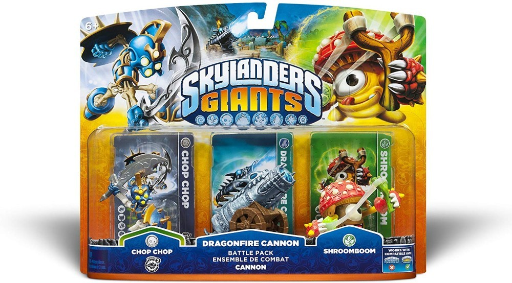 Skylanders Giants Dragonfire Cannon Battle Pack - 60233
