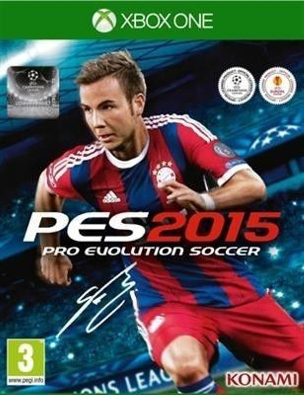 Hra XBOX One Pro Evolution Soccer PES 2015 - A