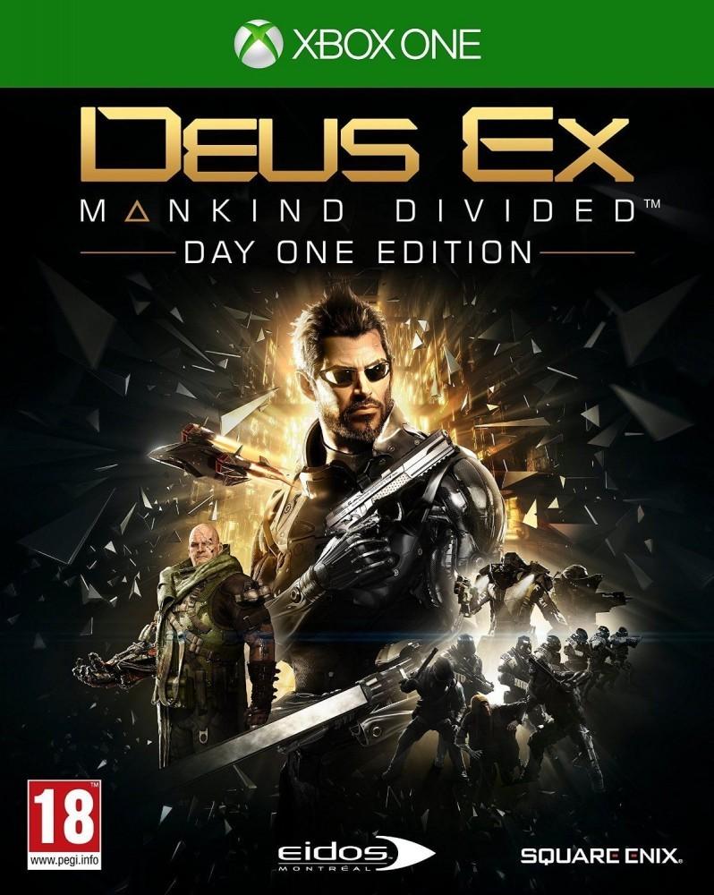 Hra XBOX One Deus Ex Mankind Divided