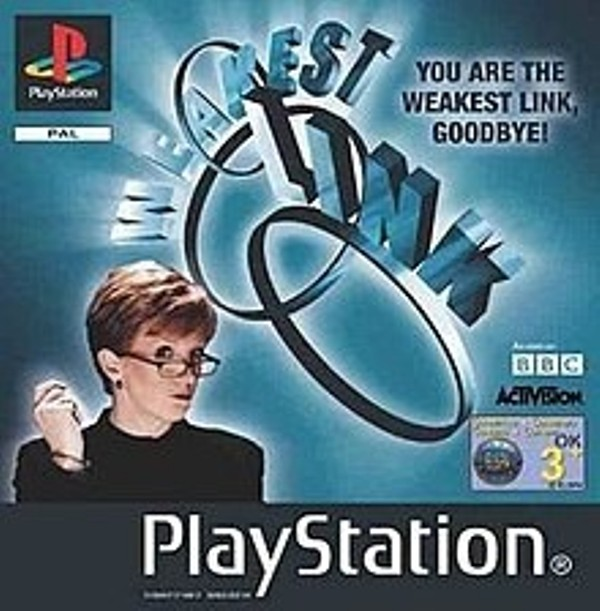 Hra PS1 The weakest link
