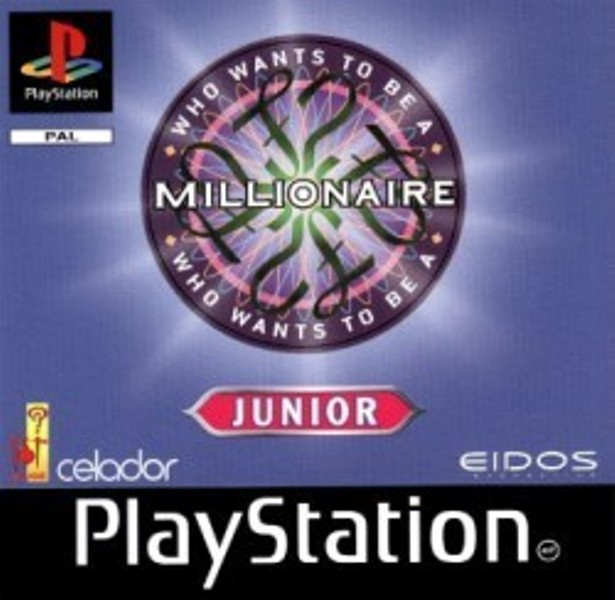 Hra PS1 Who wants to be a millionaire Junior