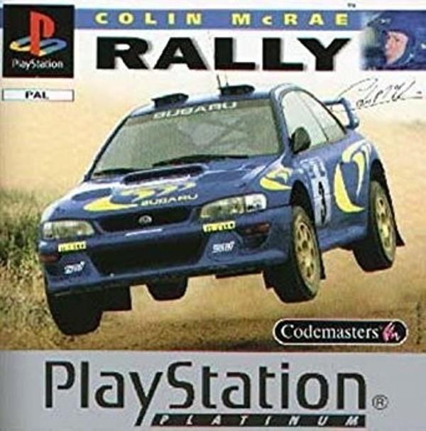 Joc PS1 Colin McRae Rally PLATINUM