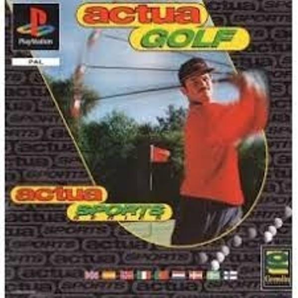 Gra PS1 Actua Golf