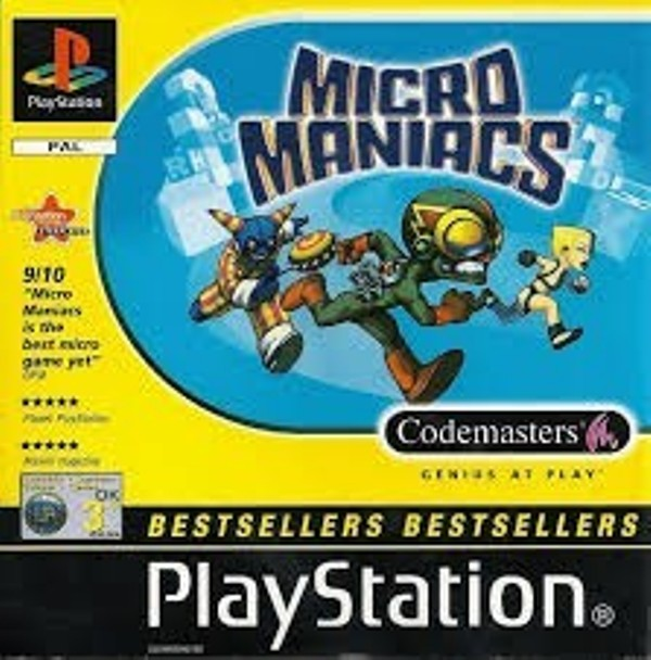 Joc PS1 Micro Maniacs - Bestsellers