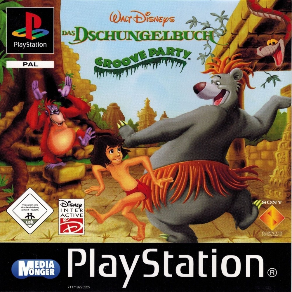 Joc PS1 The Jungle Book - Groove party