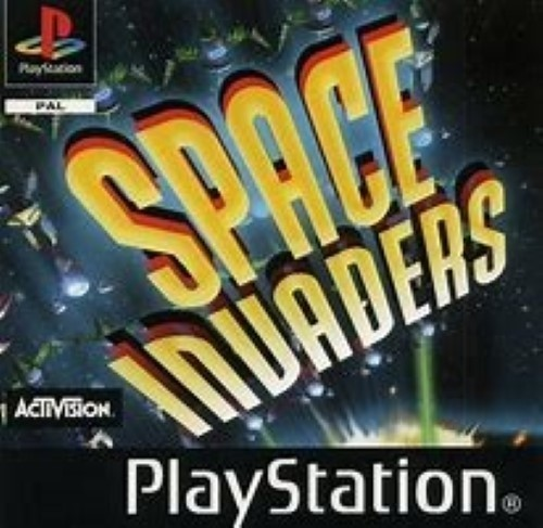 Joc PS1 Space Invaders - A