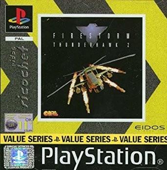 Joc PS1 Firestorm Thunderhawk 2 - Eidos Richochet