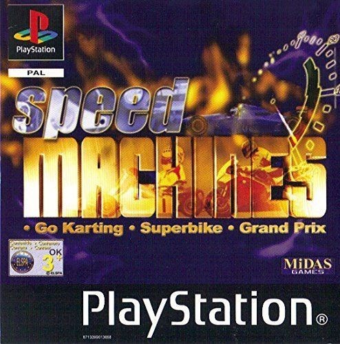 Joc PS1 Speed Machines - AF