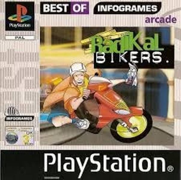 Joc PS1 Radikal Bikers - Best of infogrames - A