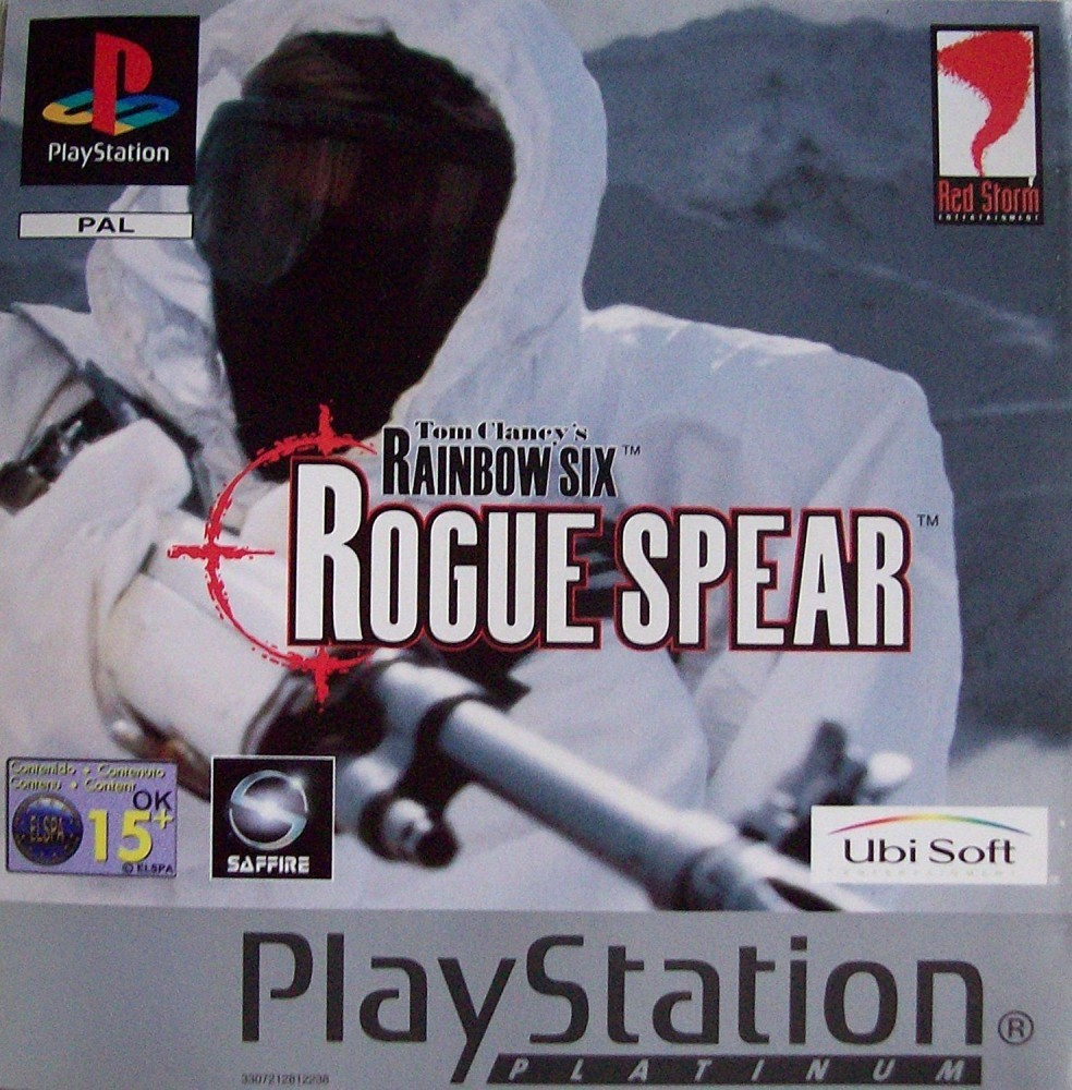 Joc PS1 Tom Clancy's Rainbow Six Rogue Spear Platinum
