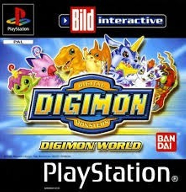 Joc PS1 Digimon World - GER