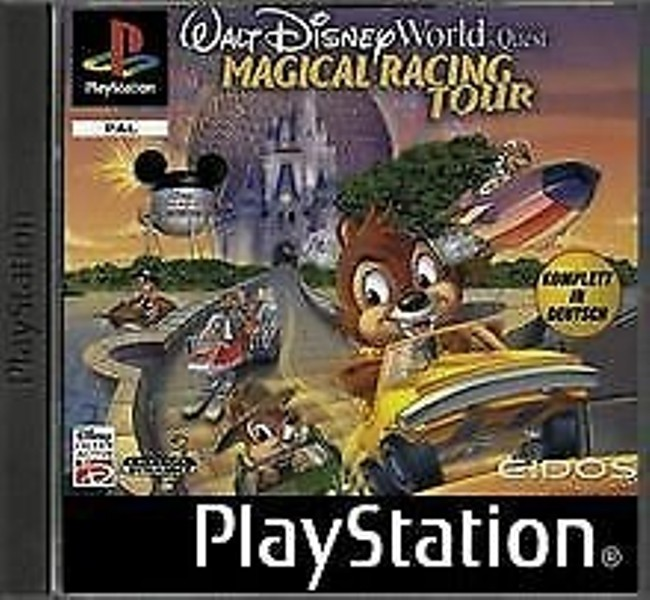 Joc PS1 Walt Disney Magical Racing Tour - A