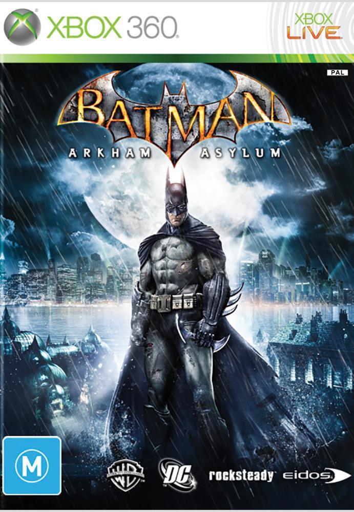 Joc XBOX 360 Batman Arkham Asylum - B