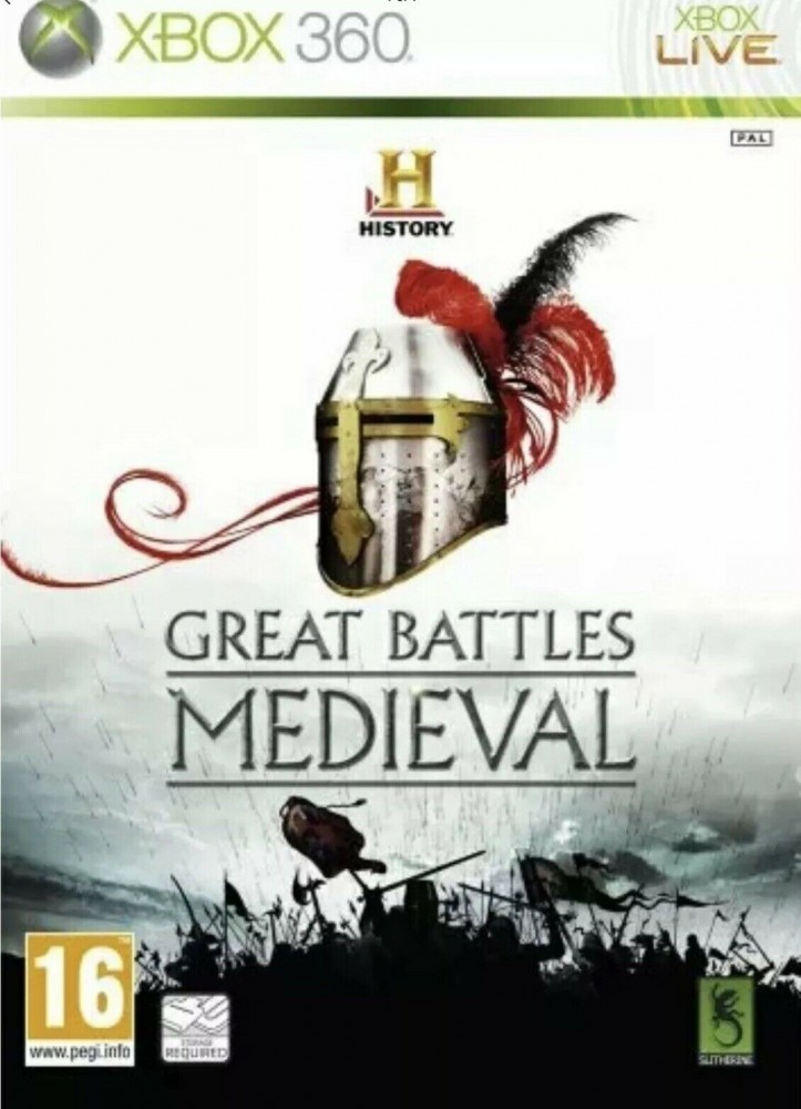 Gra XBOX 360 History Channel: Great battles medieval