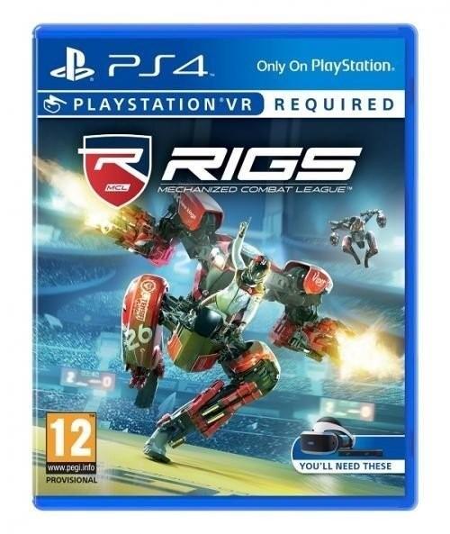 Joc PS4 Rigs - Mechanized Combat League - VR - F